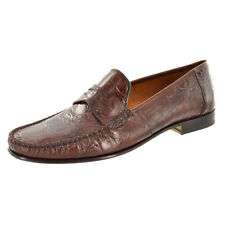 Mezlan Men's Shoes Crocodile Penny Loafer