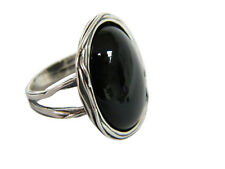 Designed 925 Sterling Silver Ring Shablool Cocktail Black Onyx Jewelry