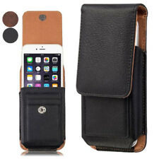 360 Rotation Belt Clip Holster PU Leather Pouch Case Cover For Alcatel Phones