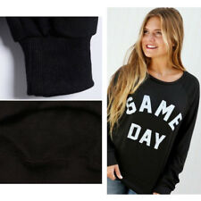 Sexy New Long-Sleeved Sweatshirt Tops Sweater Printing Hooded Women's Letter