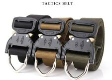 2017 Tactical Belts Military Web Nylon Survival Belts Men Army Military Combat
