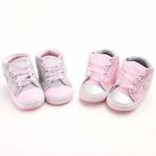 Infant Baby Kids Girls Non-slip Soft Sole Crib Sneakers Shoes Prewalker Boots