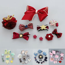 10Pcs/Set Baby Girls Hair Clip Kids Bow Flower Princess Hairpin Hair Accessories