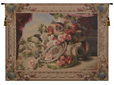 Mandolin French Classical Woven Wall Hanging Home Decor Tapestry
