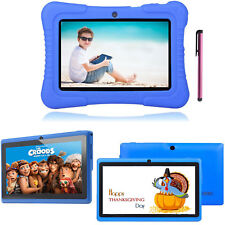 """7"""" 16GB Quad Core Camera WIFI Tablet For Kids Bundle Case Best Gift  Xmas US NEW"""