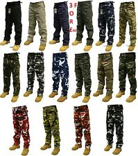 Army Military Combat Trousers PLANE Camo Camouflage Pants Airsoft Work Cargo