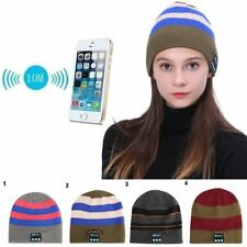 Bluetooth Music Soft Hat Wireless Smart Cap Headset Headphone Speaker Mic