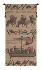 Bayeux - William Navigio (Navigating) Belgian Woven Norman Tapestry Wallhanging