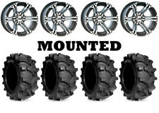 Kit 4 Kenda Executioner Tires 26x10-12/26x12-12 on ITP SS212 Machined Wheels WCT