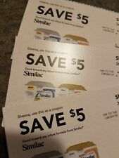 Similac Infant Baby Formula Checks Coupons $15.00 Value!