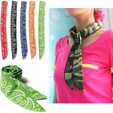 1x Summer Neck Cooler Scarf Towel Body Ice Cool Cooling Wrap Tie Headband