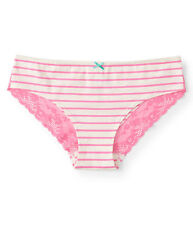 aeropostale womens stripe lace-back hipster