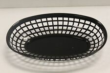 LOT OF 48- Plastic OVAL FOOD BASKET Fast Food French Fry Sandwich Choose 3 Color