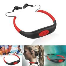 8GB Waterproof For Swimming Surfing Diving Sport Headset MP3 Player FM Radio AY