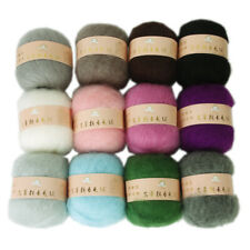 50g(±) Skein Super Soft Angola Mohair Cashmere Wool Knitting Yarn Weaving Craft