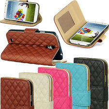 Flip Leather Magnetic Wallet Stand Case Cover For Samsung Galaxy S4 S IV I9500