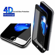 For iPhone 6s 7 Plus 4D Full Curved Edge to Edge Tempered Glass Screen Protector