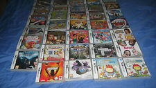 NINTENDO DS GAMES BUNDLES (PART 2) - ALL AGES - NEW/SEALED - FREE POSTAGE!!