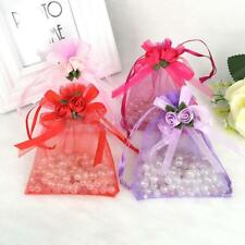 10pcs Organza Gift Tulip Candy Pouch Bags Gifts Bags Wedding Party Favor