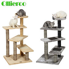 "40"" Cat Tree Scratching Post Scratcher Pole Gym House Furniture Multi Level"