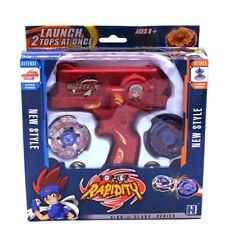 Bey Blade Toy Burst Launcher Set Fight Fusion Starter Spinning Atack Child New