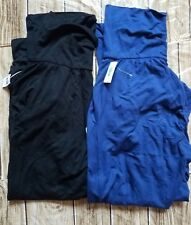 2 Gap Body Pajama Pants PJs Jogger Pockets Modal Dark Indigo/Black