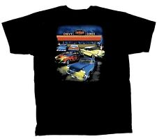 Chevrolet GM Chevy Diner Lost in the 50's T'shirt AMERICAN MUSCLE