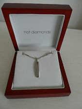 HOT DIAMONDS Sterling Silver 925 Necklace & Pendant *BOXED, BRAND NEW WITH TAG*