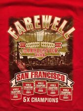San Francisco 49ers Candlestick Park Farewell Season Kaepernick Red Shirt