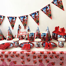 Miraculous Ladybug Kids Baby Birthday Party Decoration Set Party Supplies Pack