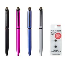 Uni Jetstream Stylus For Touch Screen 3 Color Ballpoint Pen 0.5mm Spare Head Set