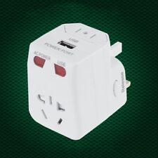 Adaptor Universal Plug Adapter World Travel AC Power Charger AU US UK EU Plug