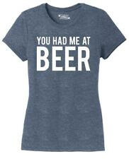 Ladies You Had Me At Beer St Patty's Day Tee Tri-Blend Tee Alcohol Party Pattys