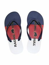 NEW MENS RAGING BULL FLIP FLOP - Rubber Summer Beach Sandal Slipper Slider