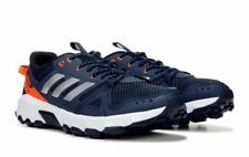 ADIDAS MENS ROCKADIA TRAIL NAVY ORANGE RUNNING SHOE **BEST SELLER
