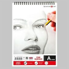 160gsm Sketch Pad Smooth Ivory Light Drawing Artist Paper on SPIRAL Book