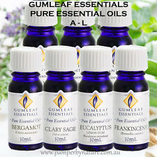 Gumleaf Essentials Pure Essential Oils - Australian made - 24 Different scents