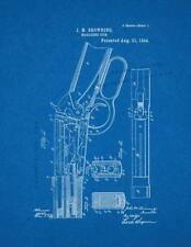 Winchester 1894 lever action Rifle Patent Print Blueprint