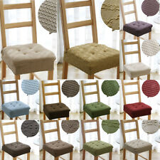 SEAT PAD BOOSTER ADULT DINING ROOM OFFICE GARDEN CHAIR CUSHION SEAT COVER - PICK