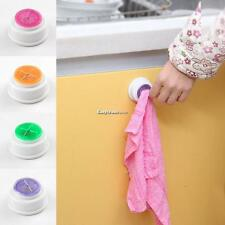 Towel Clip Holder Hanger Kitchen Bathroom Cleaning Cloth Towel Wall ESY1