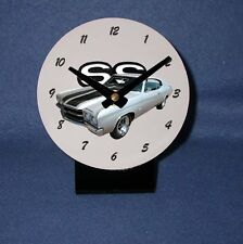 NEW 1970 Chevy Chevelle SS Desk Clock! (Many colors available)