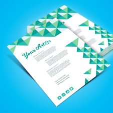 Printing: Premium Full Color Flyers (8.5x11, standard letter size)