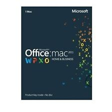 Microsoft Office Mac 2011 Home and Business Product Key Full Version 1 Mac