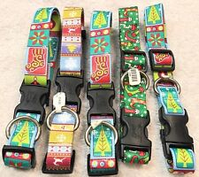 Dog Collar Size L Lot Of 5 Stockings Trees Snowflakes Christmas