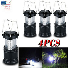 30LED Portable Outdoor Camping Lantern Bivouac Hiking Night Fishing Light Lamp&