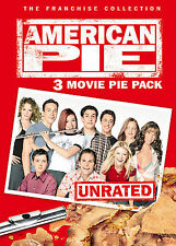 "American Pie: 3 Movie ""Pie Pack"" (DVD, 2005, 3-Disc Set, Unrated/Widescreen)"
