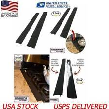 2Pc Silicone Kitchen Stove Counter Gap Cover Oven Guard Spill Seal Filler New