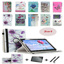 "3 IN 1 SET Screen Protector + 10.1"" Case Cover For LENOVO TAB 2 A10-30 F"