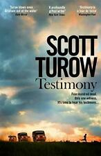 Testimony by Scott Turow Paperback Book Free Shipping!