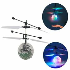 Flash Flying Ball Infrared Induction LED Disco RC Helicopter kids Toy LOT XJ